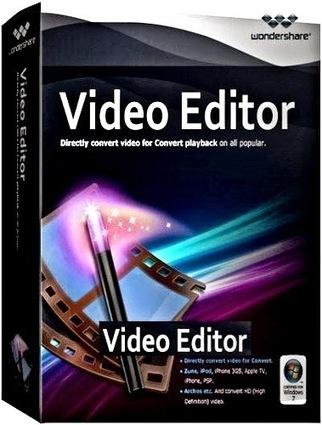 WonderShare Video Editor 9.0 Crack + Patch