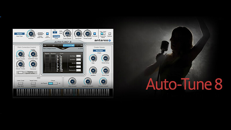 Antares AutoTune Pro 9.0.1 Crack