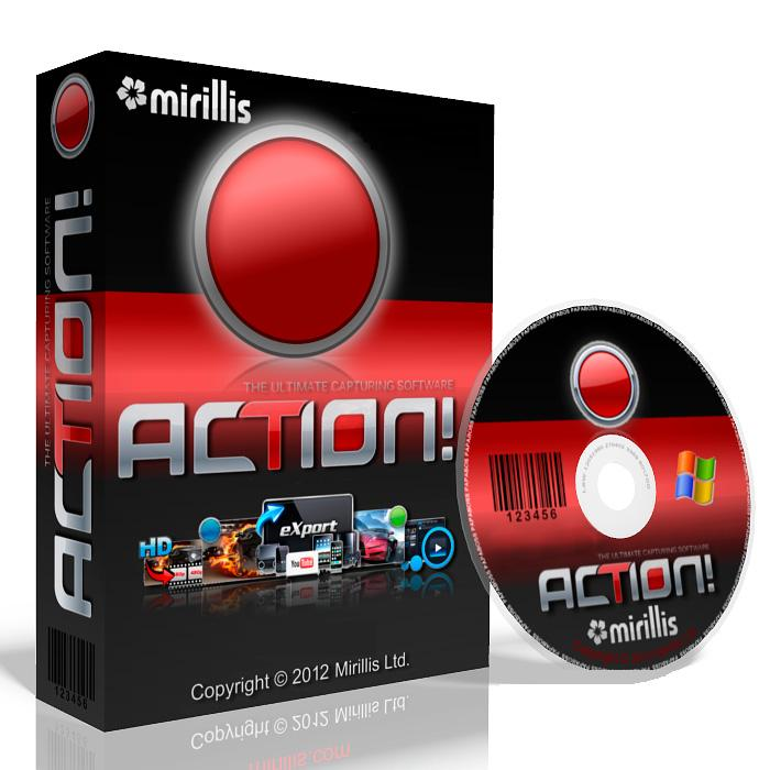 Mirillis Action 3.9.0 Crack